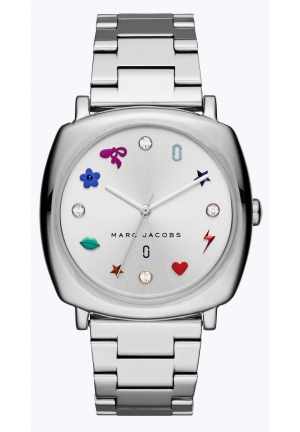 The Mandy Silver Women Watch 34x34mm,