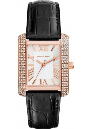 MICHAEL KORS Mini Rose Emery Glitz Watch 33 mm