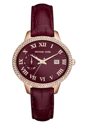 MICHAEL KORS Red Whitley 41mm