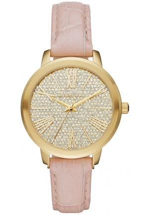 HARTMAN PINK LEATHER STRAP LADIES WATCH