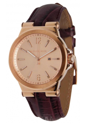 BURGUNDY ROSE GOLD WATCH 38mm