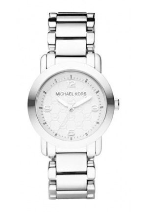 RUNWAY SILVER STAINLESS STEEL QUARTZ LADIES WATCH
