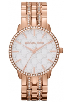 MICHAEL KORS Lady Nini Rose Gold Tone Stainless Steel 35mm