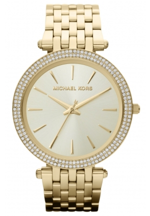 Michael Kors Darci Glitz Gold Ladies Watch
