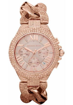Women's Chronograph Camille Rose Gold-Tone Stainless Steel Bracelet 44mm