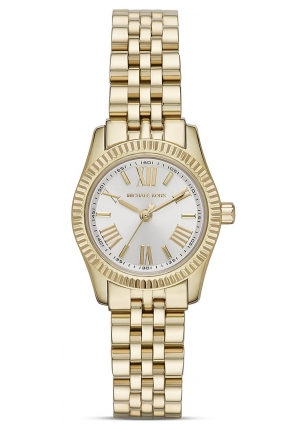 MICHAEL KORS Ladies Lexington Gold-Tone Watch 26mm