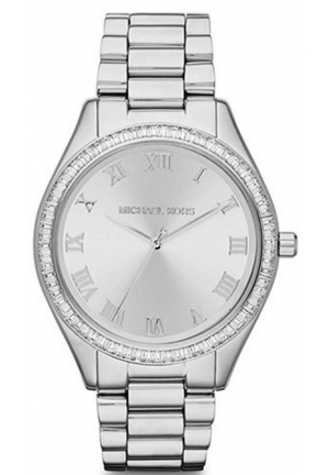 Michael Kors Blake Silver Dial Stainless Steel Bracelet Watch