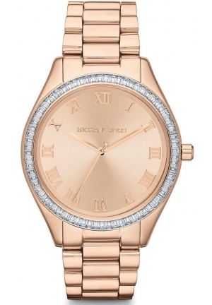 MICHAEL KORS Blake Rose Gold-tone Dial Rose Gold-tone Stainless Steel Bracelet Ladies 41mm