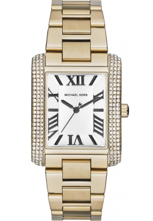 'Emery' Crystal Accent Bracelet Watch, 31mm x 40mm