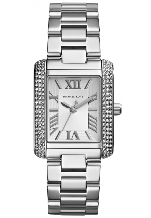 MICHAEL KORS Steel Emery Watch 31x40 mm