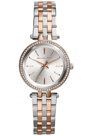 MICHAEL KORS Petite Darci Two Tone Watch 26mm