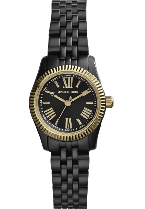 MICHAEL KORS Petite Lexington Black Watch 26mm