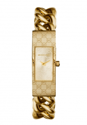 MICHAEL KORS Hayden Gold-Tone Bracelet Watch 47x16mm