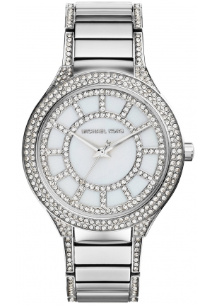 MICHAEL KORS Kerry silver tone women's Watch 38mm