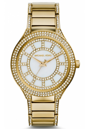 MICHAEL KORS Kerry Gold Tone Women's Watch 38mm