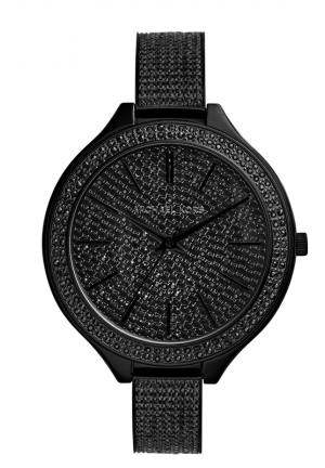 Slim Runway Black Glitz Watch 43mm