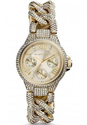 Mini Camille Dial Crystal Ladies Watch 34mm