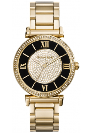 Catlin Gold-Tone Stainless Steel Bracelet Watch 42mm