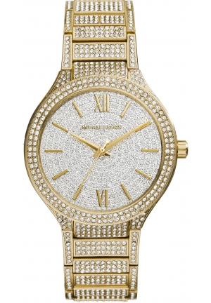 Kerry Gold Tone Glitz Watch 38mm