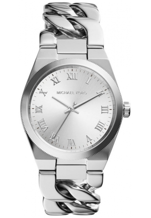 MICHAEL KORS Channing Silver-Tone Watch 38mm