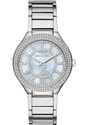 MICHAEL KORS  Kerry Silver-Tone Watch 38mm