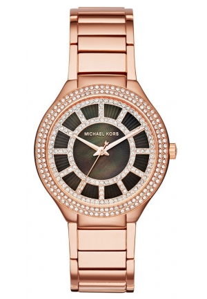 MICHAEL KORS  Kerry Rose Gold-Tone Watch 38mm