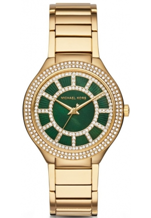 MICHAEL KORS  Kerry Pavé Gold-Tone Watch