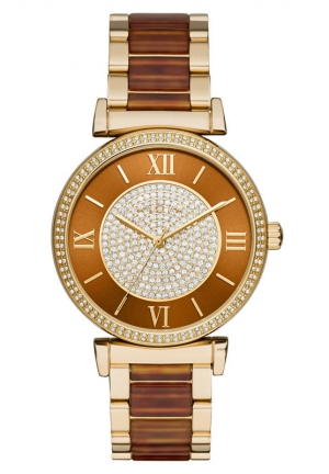 MICHAEL KORS Multicolored Catlin Watch 38mm
