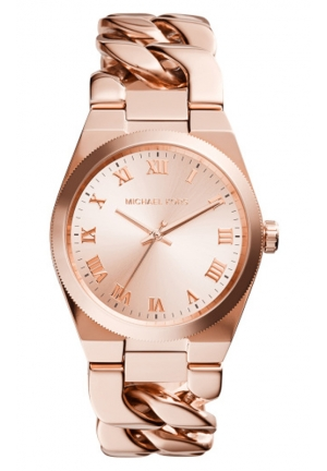 MICHAEL KORS Rose Gold-Tone Channing Watch 38mm