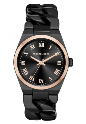 MICHAEL KORS Black Channing Watch 38mm