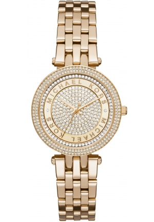 MICHAEL KORS  Darci Mini Gold-Tone Watch 33mm