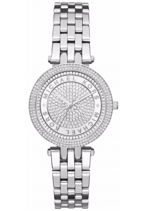 Michael Kors Women's Mini Darci Crystal Pavel Stainless Watch