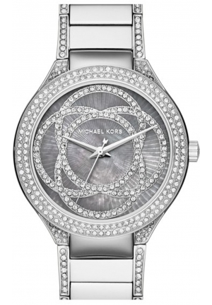 MICHAEL KORS Kerry Mother of Peaerl Dial Stainless Steel Ladies Watch 38mm