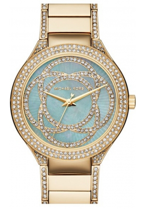 MICHAEL KORS Kerry Mother of Pearl Gold-Tone Stainless Steel Ladies Watch 38mm