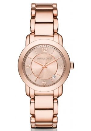 MICHAEL KORS  Mini Rose Gold-Tone Watch