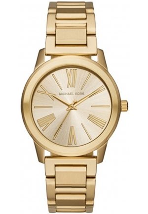 MICHAEL KORS Hartman Gold-Tone Stainless Steel Ladies Watch 38mm