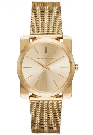 MICHAEL KORS Kempton Gold Tone Dial Ladies Watch 35mm