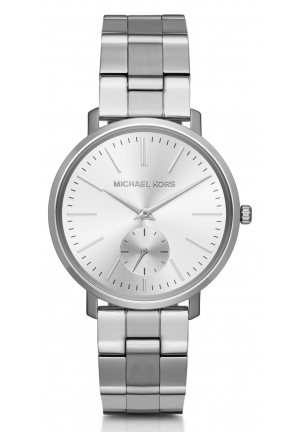MICHAEL KORS  Jaryn Silver-Tone Watch