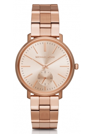 MICHAEL KORS  Jaryn Rose Gold-Tone Watch