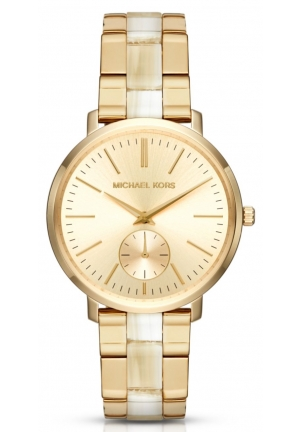 MICHAEL KORS  Jaryn Gold-Tone And Acetate Watch