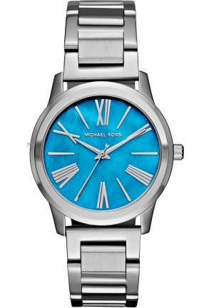 MICHAEL KORS  Hartman Silver-Tone Watch