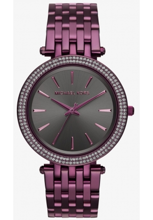 MICHAEL KORS  Darci Plum-Tone Watch