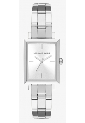 MICHAEL KORS  Harway Silver-Tone Watch