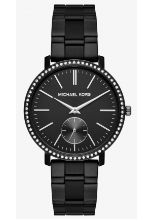 MICHAEL KORS  Jaryn Black-Tone IP Watch