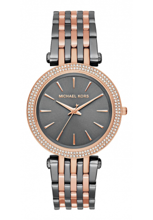 DARCI PAVÉ TWO-TONE WATCH 39MM