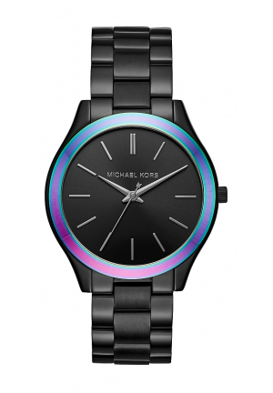 Slim Runway Black-Tone And Iridescent Watch 42mm