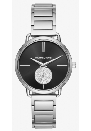 MICHAEL KORS  Portia Silver-Tone Watch