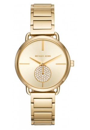 MICHAEL KORS  Portia Gold-Tone Watch