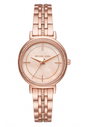 82f0bb639344 CINTHIA ROSE GOLD MOTHER OF PEARL DIAL LADIES WATCH · Michael Kors