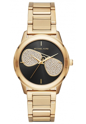 MICHAEL KORS  Hartman Gold-Tone Aviator Watch